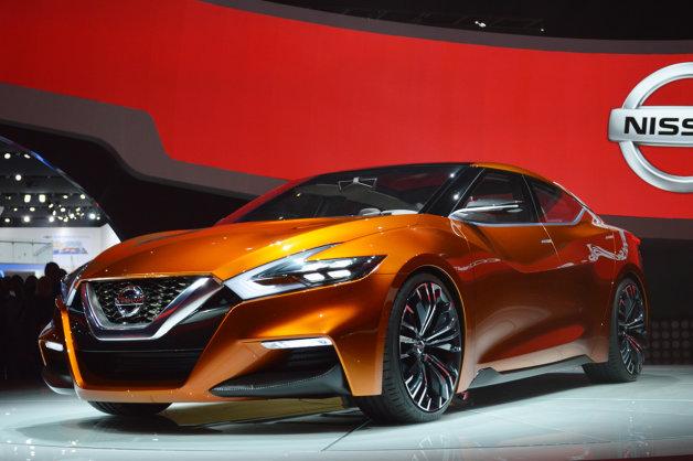 【北米国際自動車ショー2014】日産、「スポーツセダン コンセプト」を世界初公開!