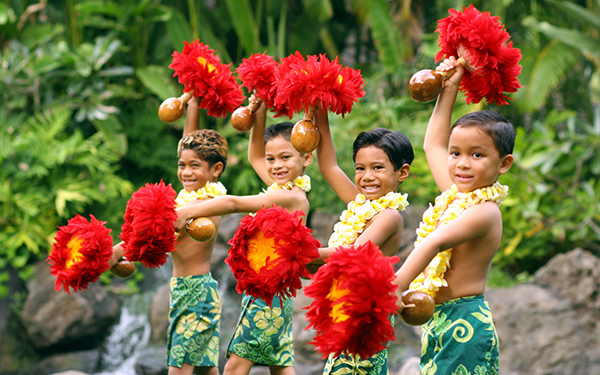 Kids Luau at Hawaii's Polynesian Cultural Center