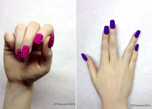 Nail Art Made With A 3D Printer Its Possible