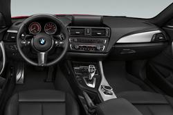 2014 BMW 2 Series interior