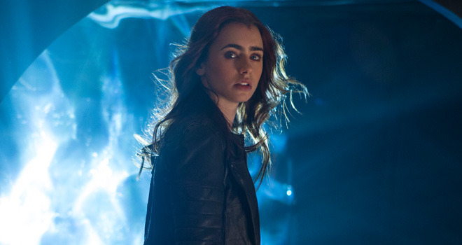 Lily Collins in 'The Mortal Instruments: City of Bones'