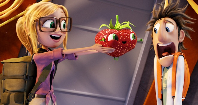 Cloudy With a Chance of Meatballs 2, Anna Faris, Bill Hader