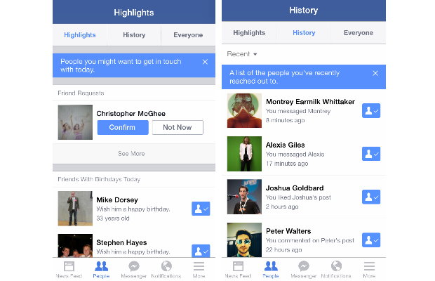 Facebook 在 iOS 版程式上局部推出了「Highlights」功能,朋友生活窺探者必用