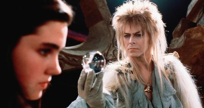 LABYRINTH, Jennifer Connelly, David Bowie, 1986, (c) TriStar/courtesy Everett Collection