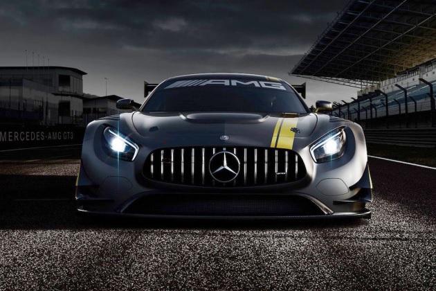 メルセデス・ベンツ、新型レース仕様車「メルセデスAMG GT3」の画像を公開