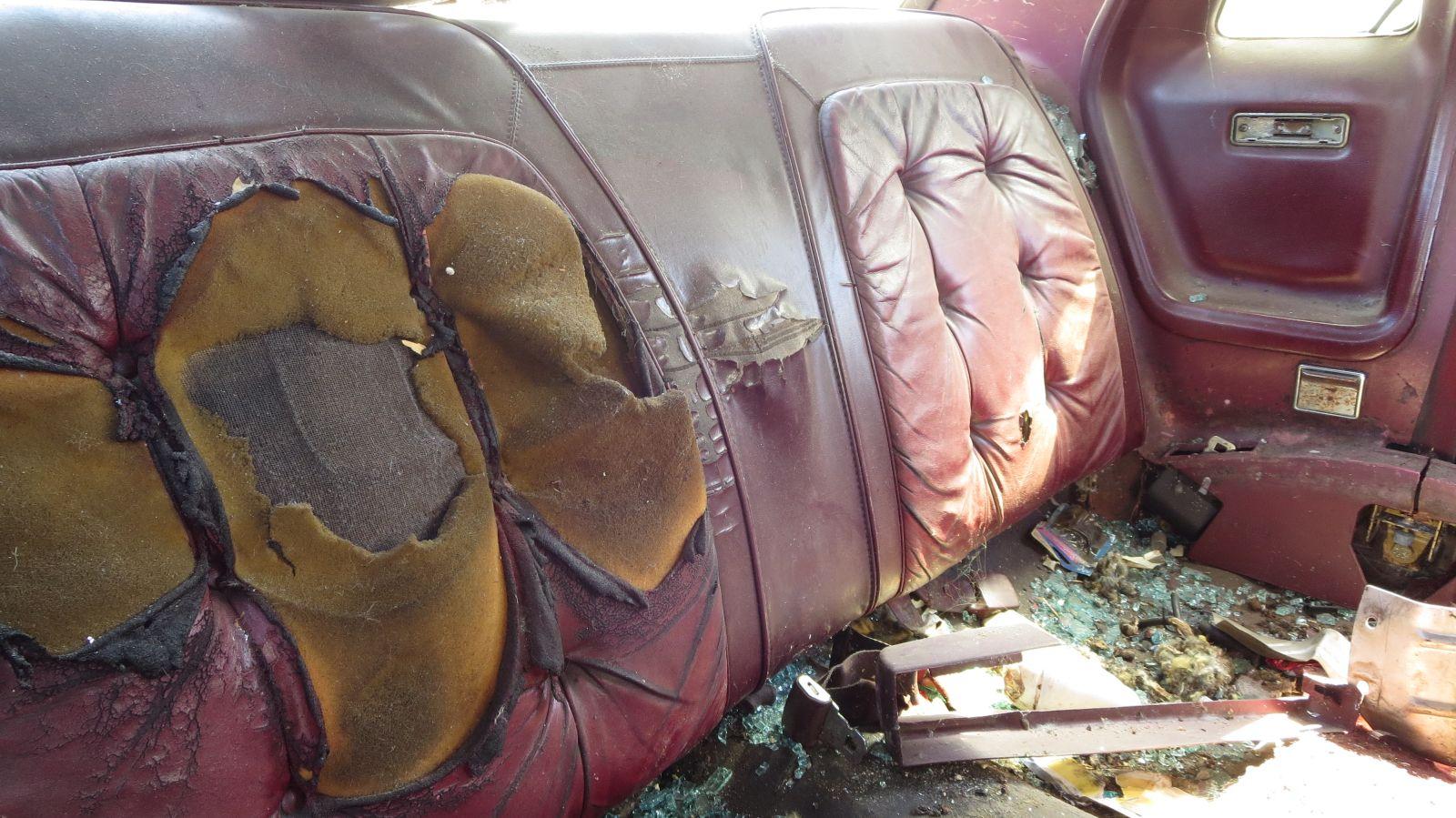 Junkyard Gem 1977 Chrysler Cordoba With Corinthian Leather Autoblog