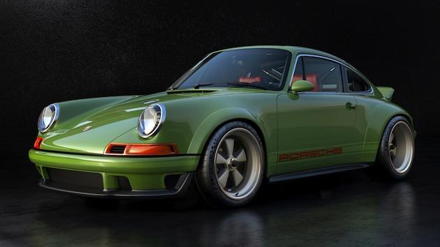 シンガー社、ウィリアムズと共同開発の500馬力エンジンを搭載したポルシェ「911」を初公開!