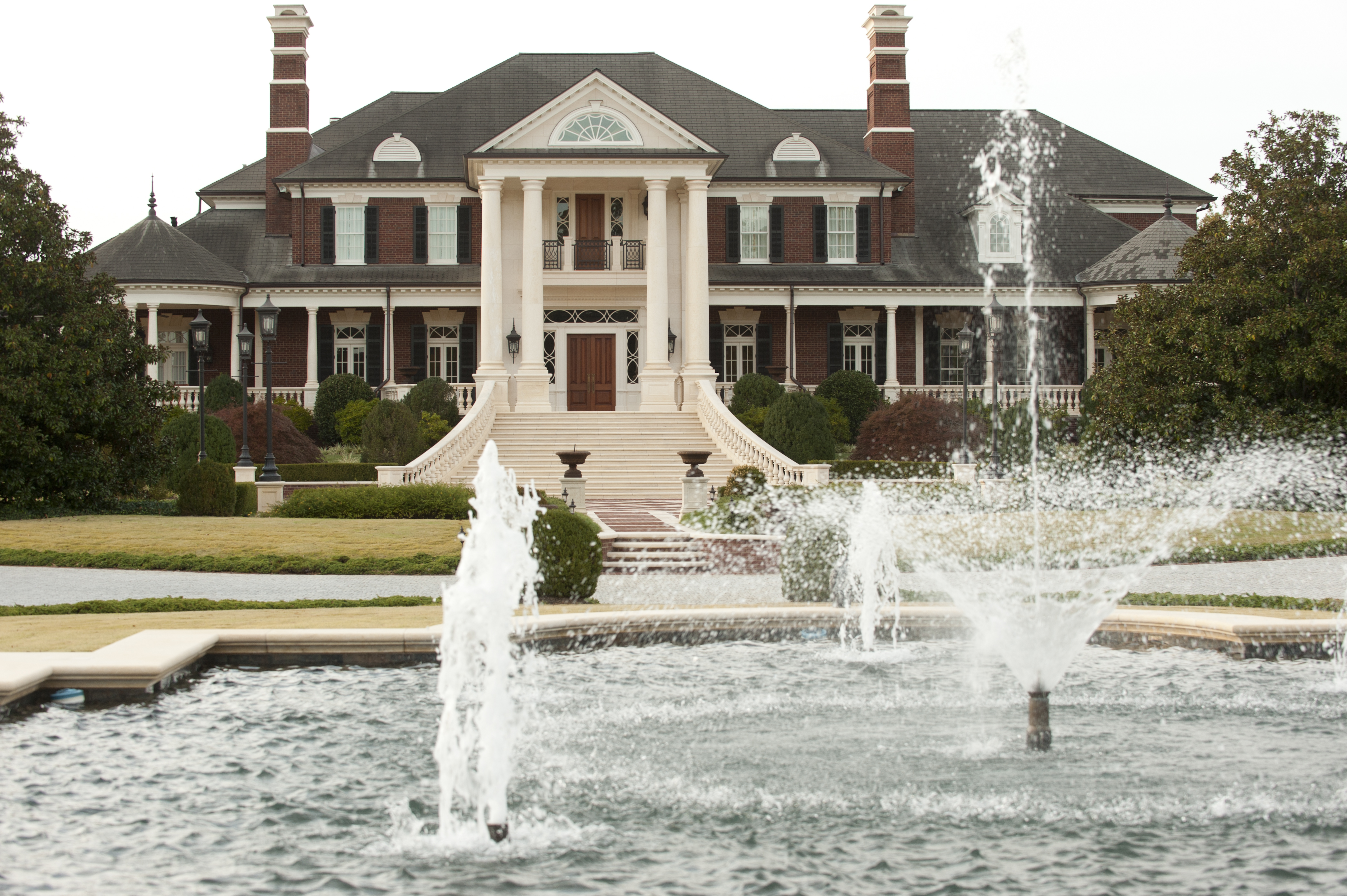 Atlanta Fine Homes Sotheby S International Realtythe Mansion Located About 45 Minutes From Reportedly Cost 40 Million To Build But Has Never Been