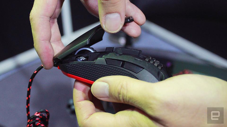 感应器也能换,EpicGear 展示模块化电竞鼠标 Morph