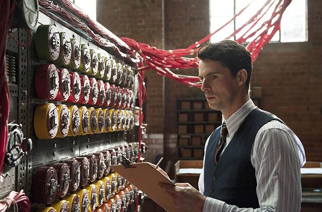Matthew Goode in the Imitation Game