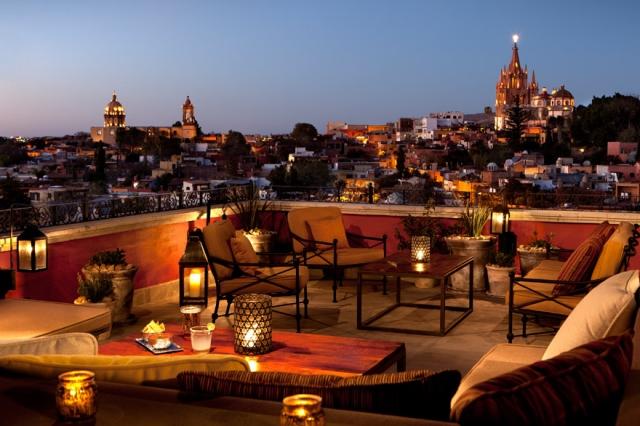 Rosewood San Miguel de Allende rooftop