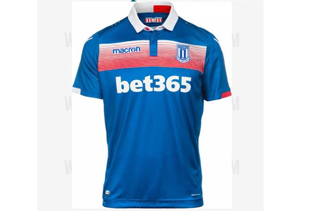 Stoke City FC away shirt 2017/18