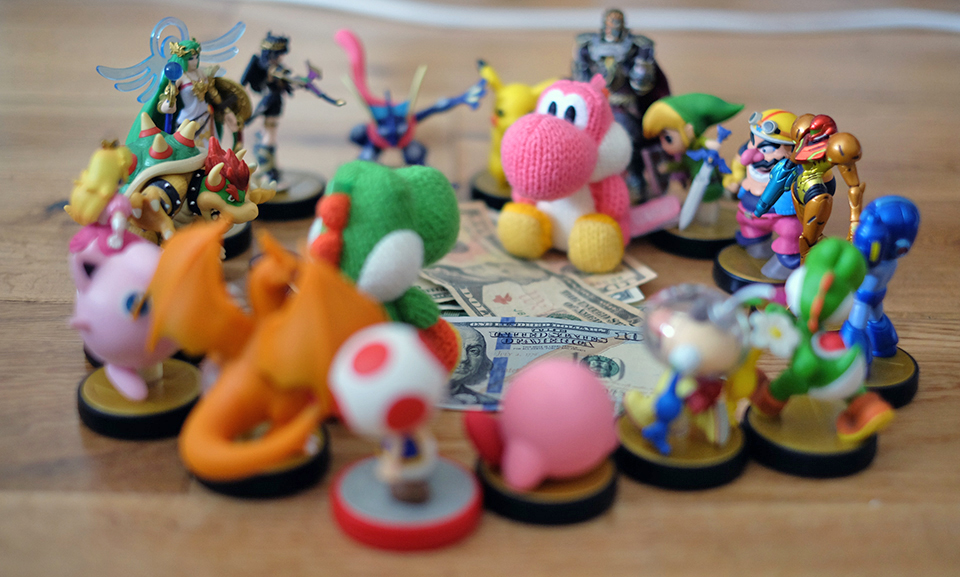 Nintendo sold almost 10 million Amiibos in the last three months