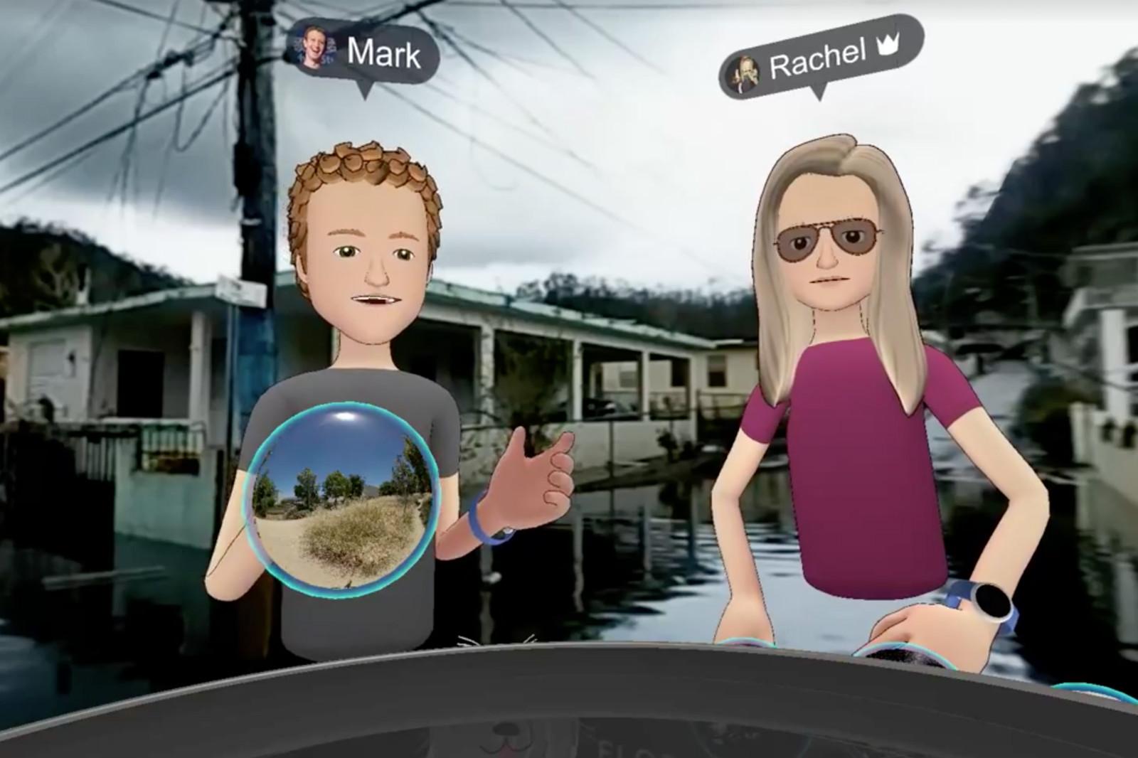 Mark Zuckerberg uses Facebook to visit Puerto Rico in VR