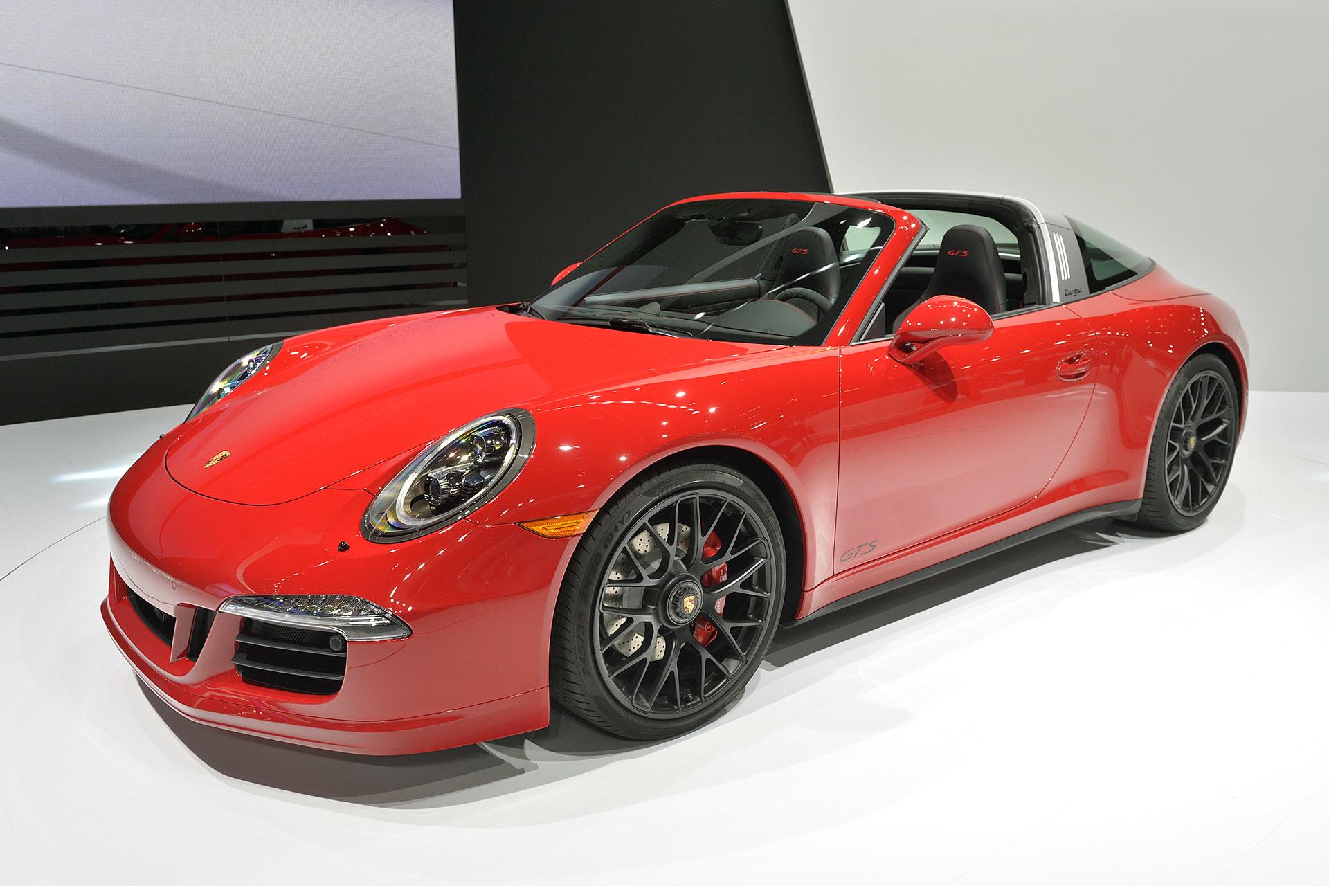 【北米国際自動車ショー2015】ポルシェ「911タルガ」に初のGTSが登場! 50周年記念モデル「911タルガ【北米国際自動車ショー2015】ポルシェ、タルガの50周年記念モデル「911タルガ4 GTS」を発表!