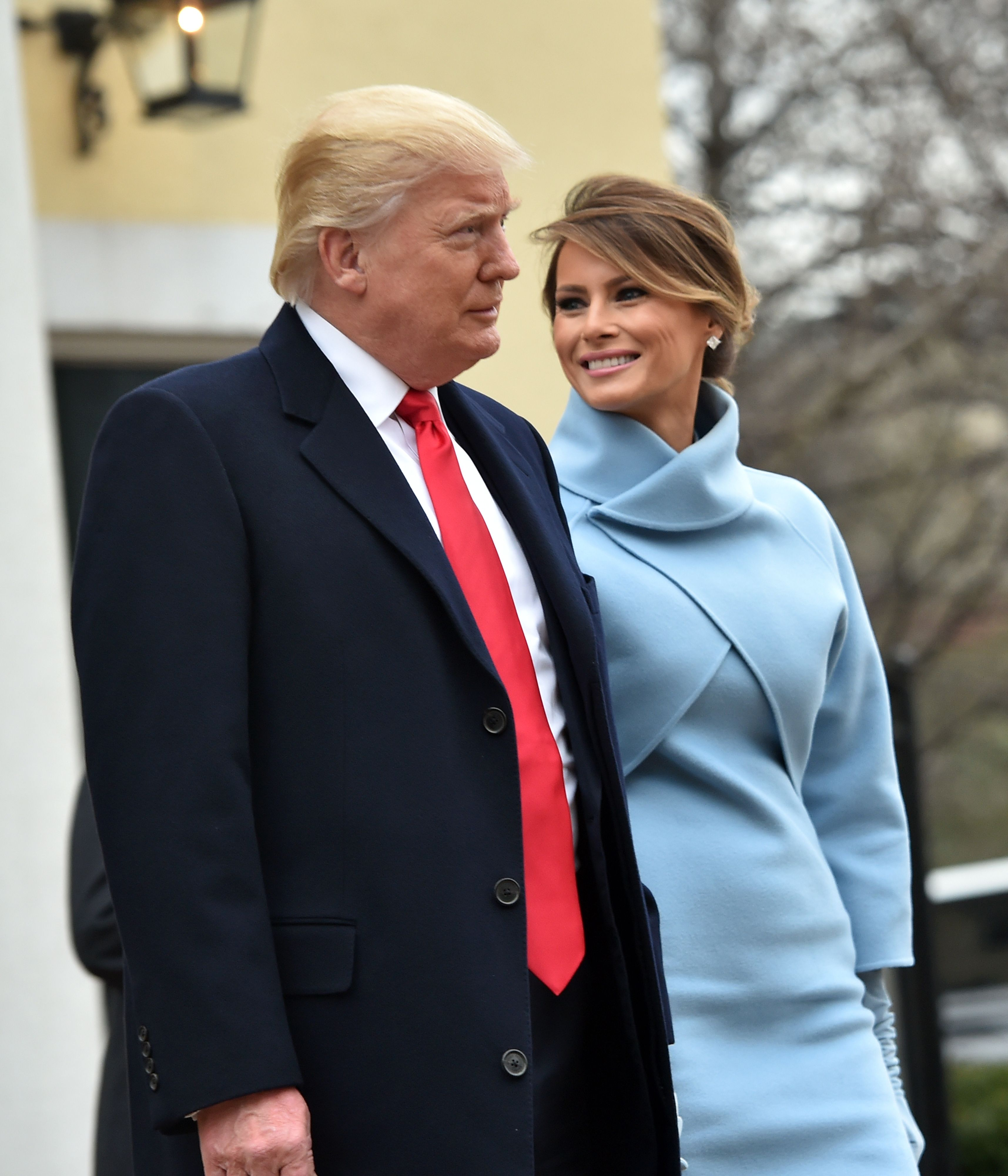 President-elect Donald Trump and Melania Trump inauguration