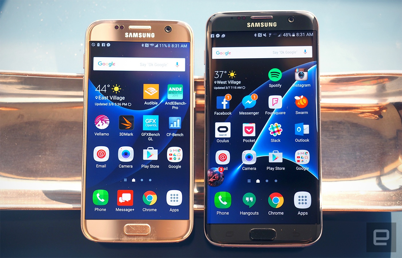 galaxy s7 and s7 edge review samsung 39 s finest get more polished. Black Bedroom Furniture Sets. Home Design Ideas