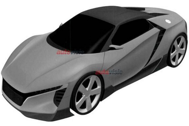 【レポート】ホンダが新型ミドエンジン・スポーツカーらしきデザインを意匠登録していたことが明らかに!