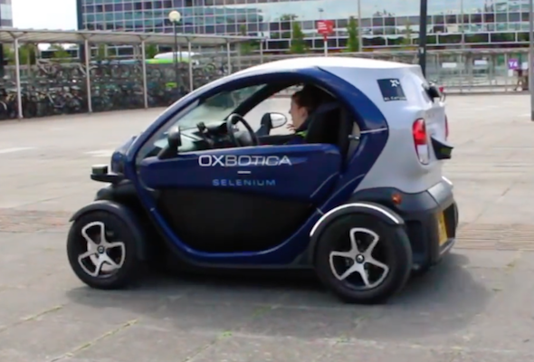 UK's driverless car trials begin in Milton Keynes - AOL