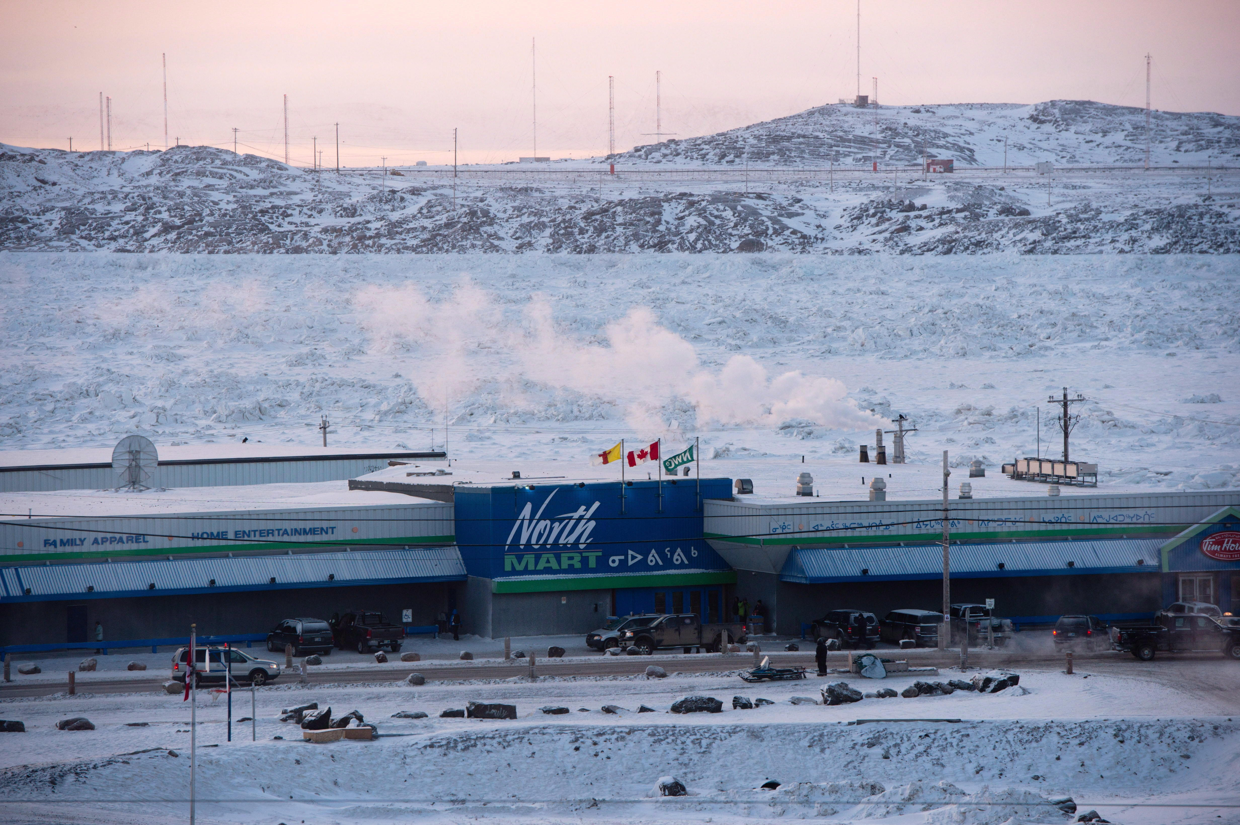 A grocery store is pictured in Iqaluit, Nunavut on Tuesday, Dec. 9,