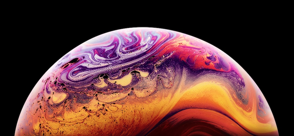 Wallpaper Iphone Xs 4k Os 20235: 『iPhone XS』なりきり壁紙が勝手配布中。新iPhone発表までの待機用??