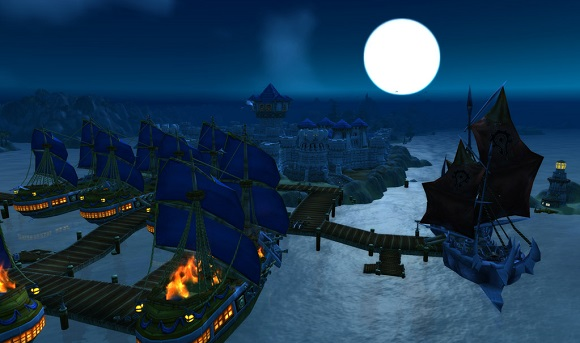 Boats in Theramore harbor