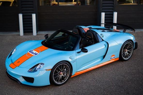 Porsche 918 colours