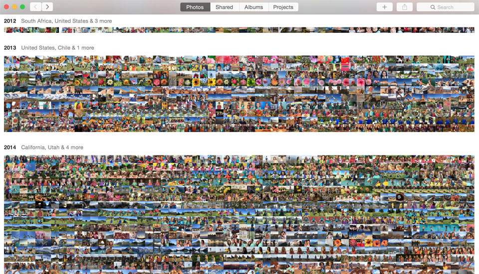 Apple 重新設計其 Mac 版本「Photos」,沒有「i」變得更好用?
