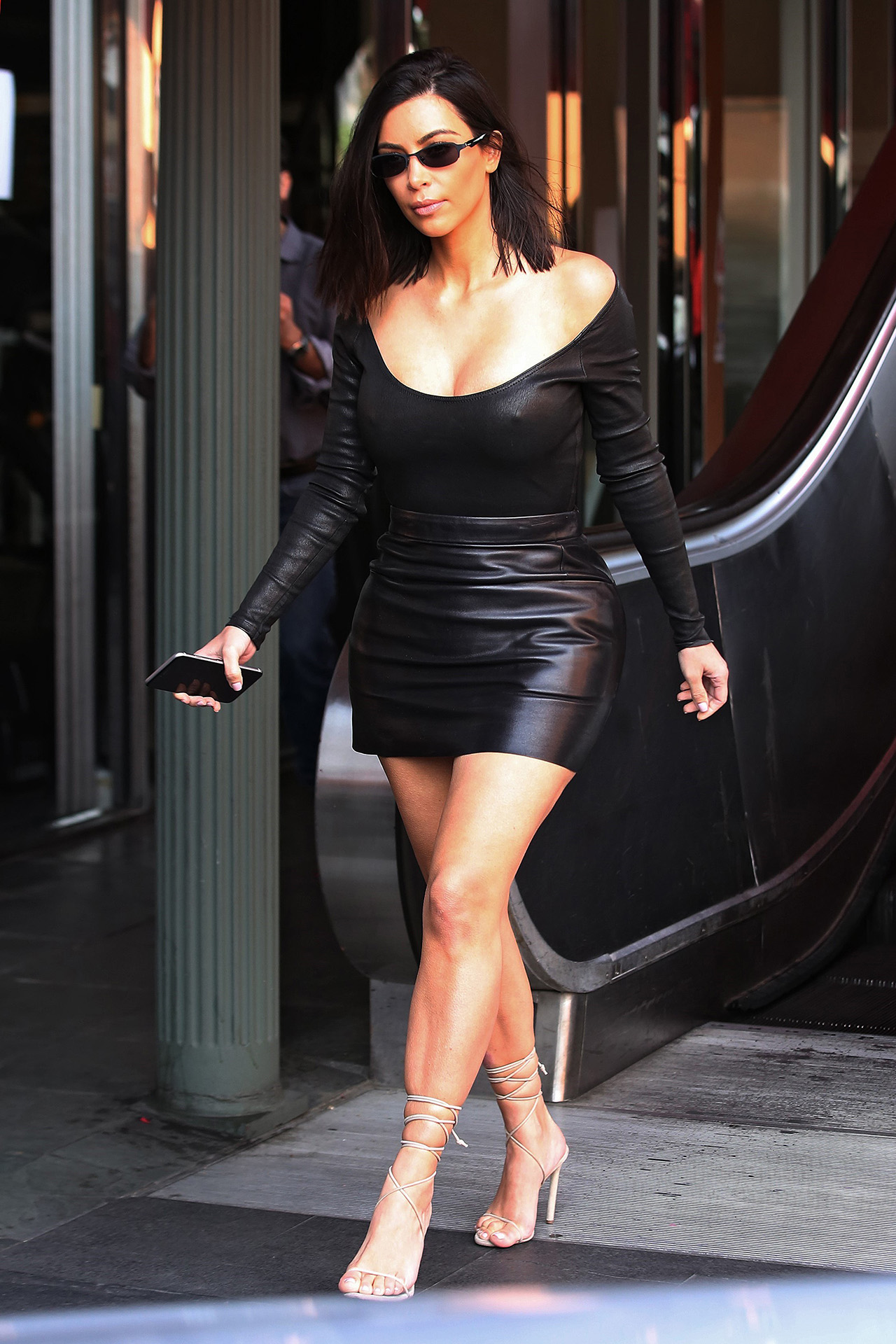 Los Angeles, CA  - Kim Kardashian seen leaving Chin Chin Restaurant with Joanathon and sister Kourtney.  BACKGRID USA 8 MAY 2017  BYLINE MUST READ: 4CRNS / BACKGRID  Pictured: Kim Kardashian  USA: +1 310 798 9111 usasales@backgrid.com . UK: +44 208 344 2007 uksales@backgrid.com . AUSTRALIA: +61 2 9212 2622 australiasales@backgrid.com . GERMANY: +49 4541 8565014 germanysales@backgrid.com . *UK Clients - Pictures Containing Children Please Pixelate Face Prior To Publication*