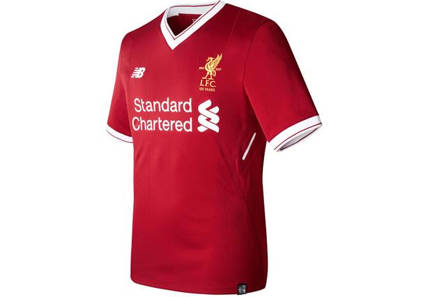 Liverpool FC home shirt 2017/18