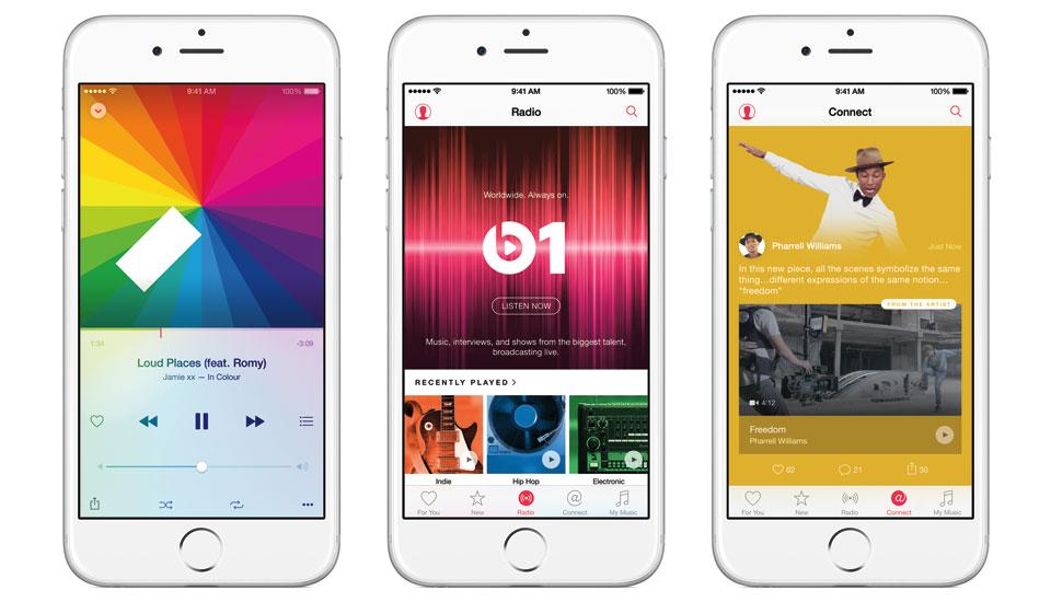 Apple Music 明晚 11 点正式上线;Beats 1 也将在其后一小时开台