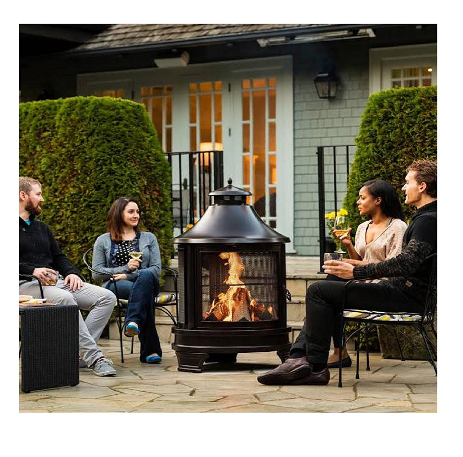 Five Best Chimeneas And Firepits Aol