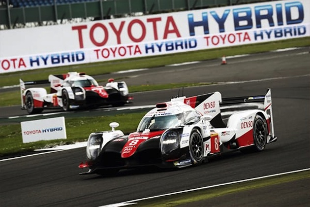 FIA世界耐久選手権開幕戦シルバーストーン6時間、トヨタ TS050 HYBRIDが激戦を制す