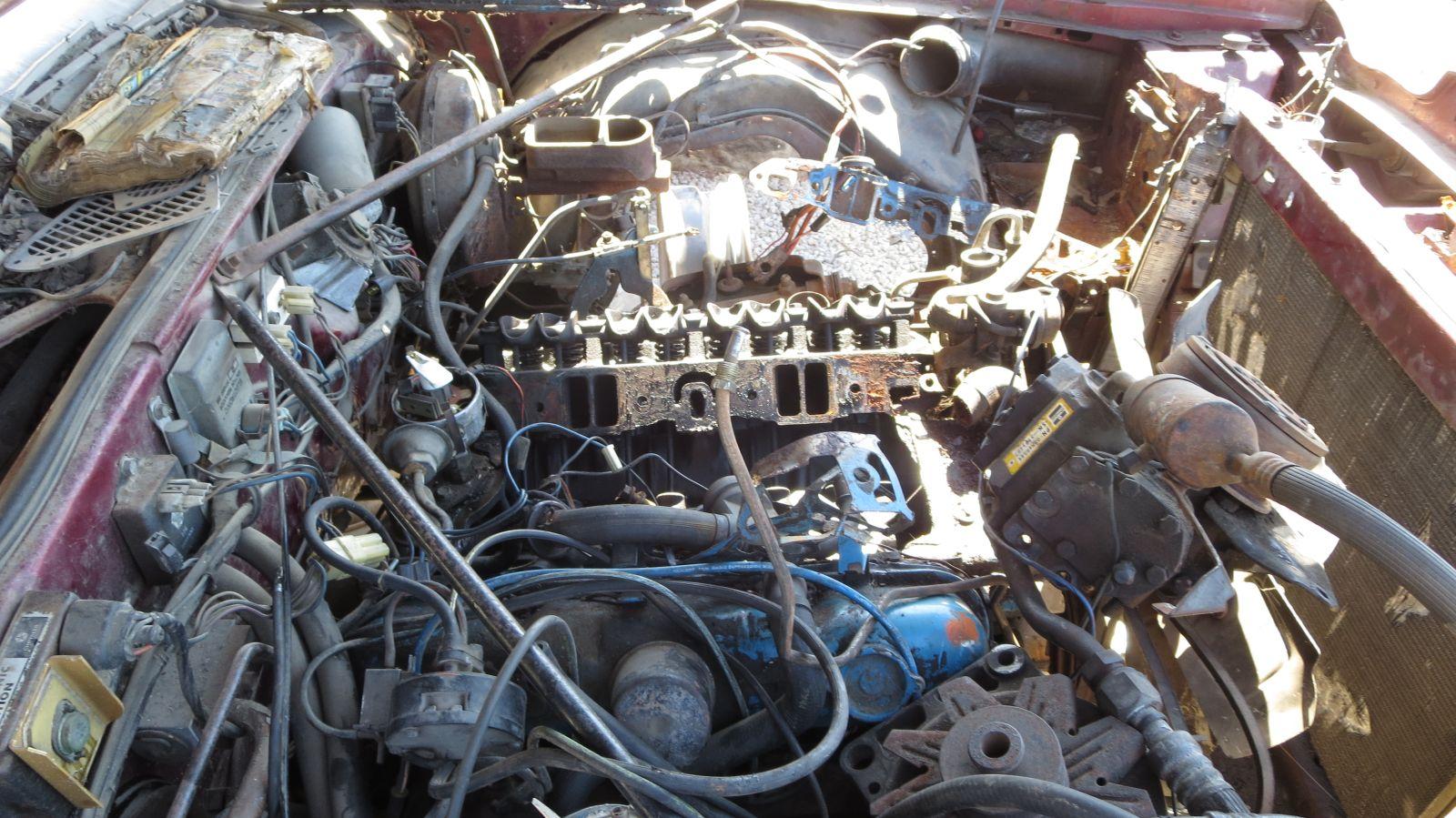 1977 Chrysler Cordoba 360 engine