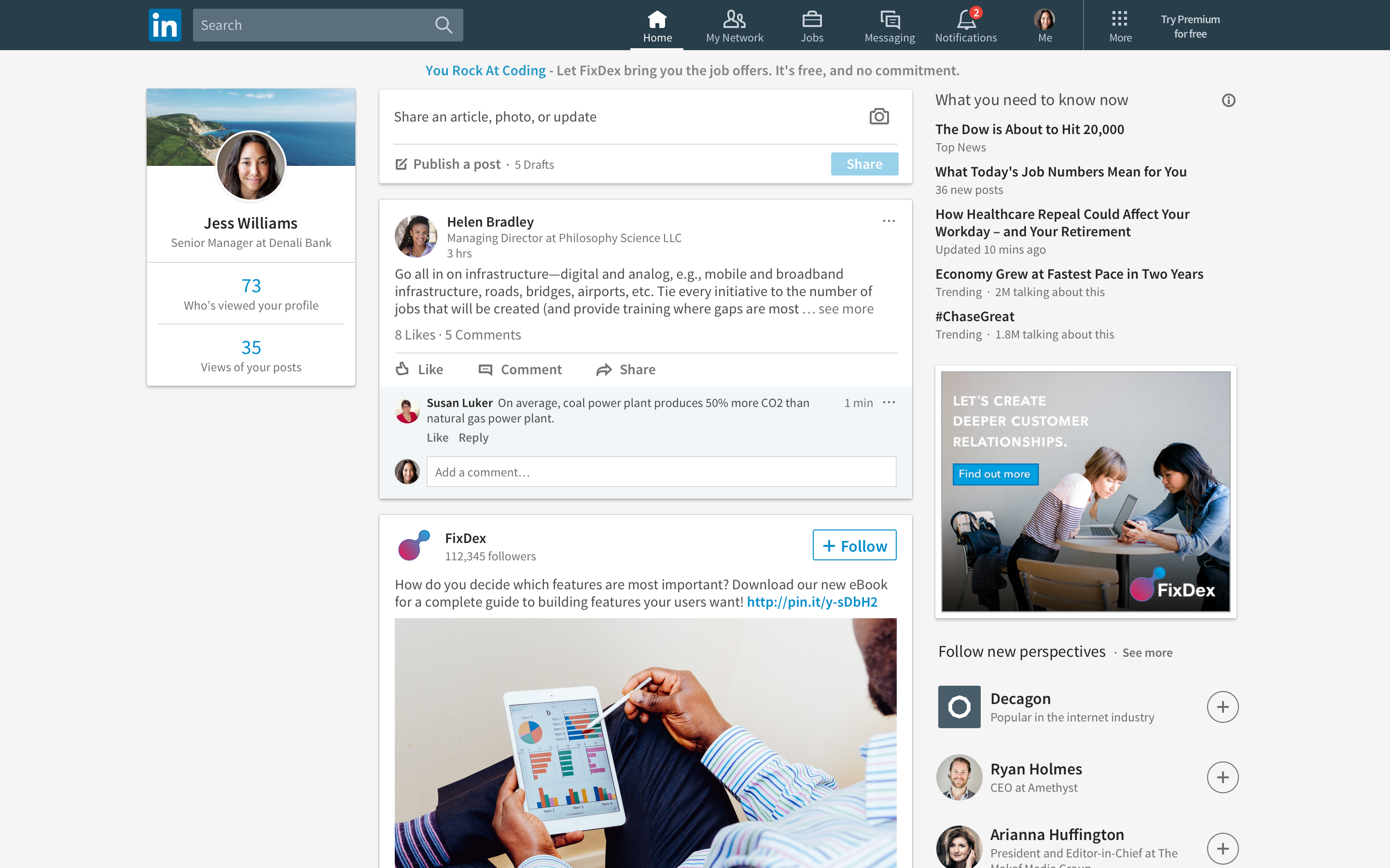 Linkedin mercifully redesigns its cluttered homepage stopboris Images
