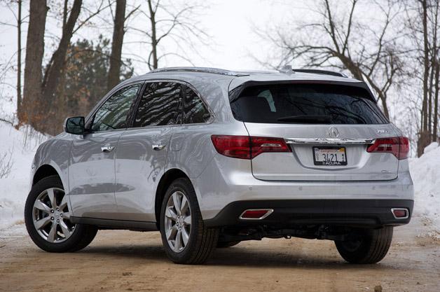Acura MDX SHAWD Autoblog - Acura mdx review 2014