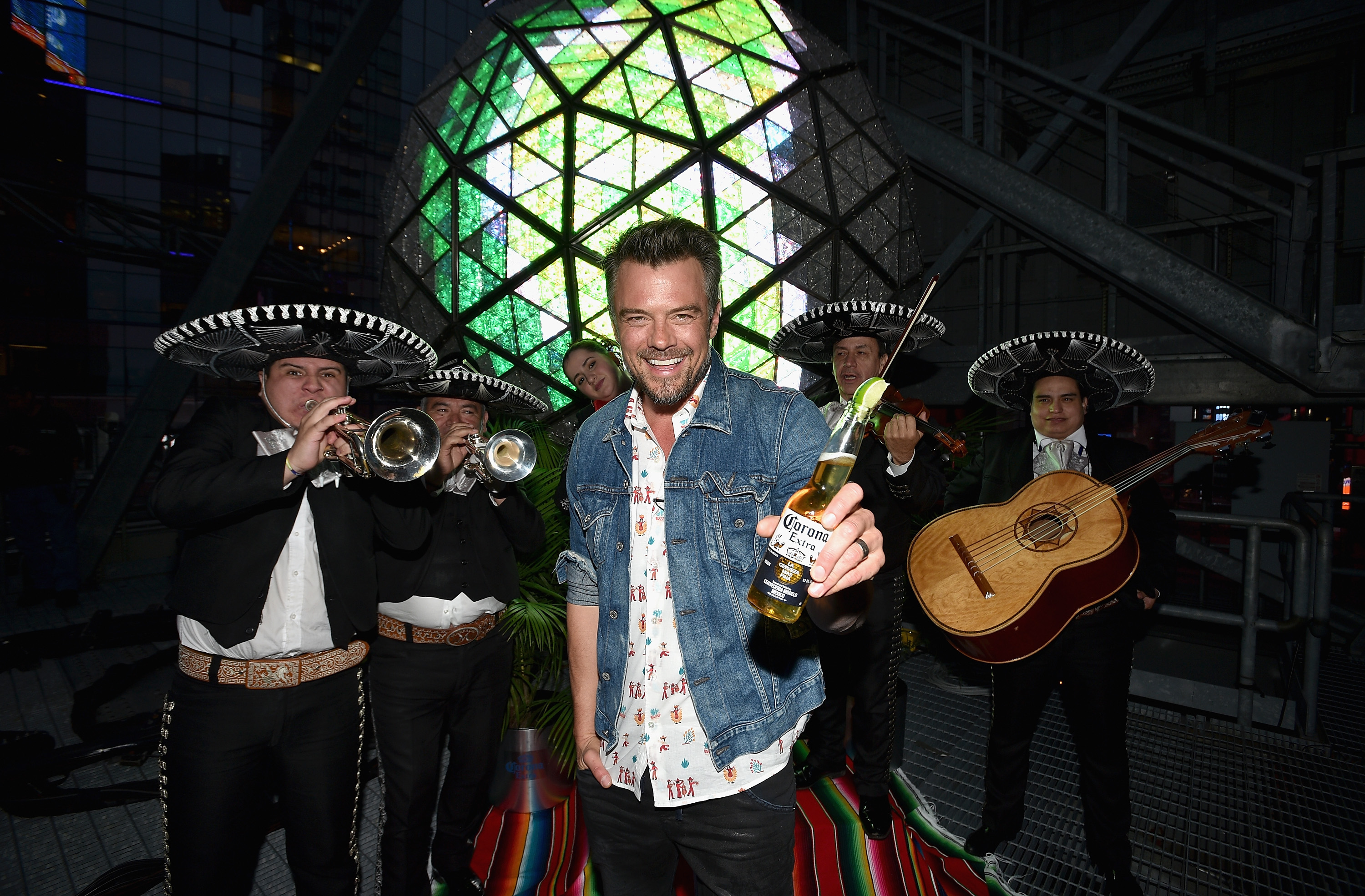 Josh Duhamel and Corona #LIMEDROP Cinco de Mayo Kick Off