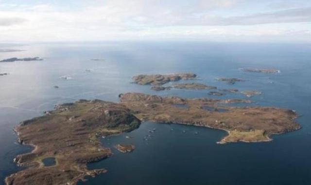 Self-sufficient private island for sale off Scottish coast