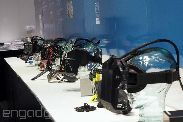 Valve's VR headset prototypes at GDC 2015
