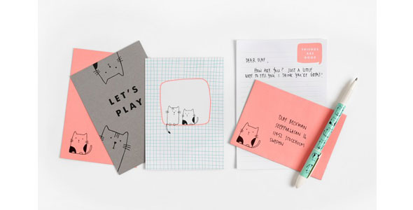 Stationery so cute youll want to write someone a letter k vnskap pen pal kit spiritdancerdesigns Gallery