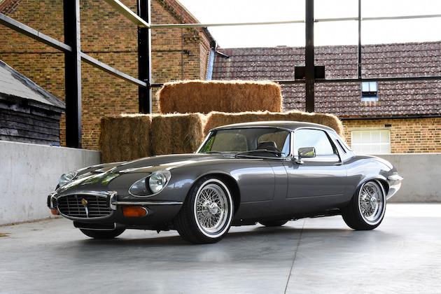 英国の専門ショップが上品なレストアと現代的な改良を施したジャガー「Eタイプ シリーズ3」