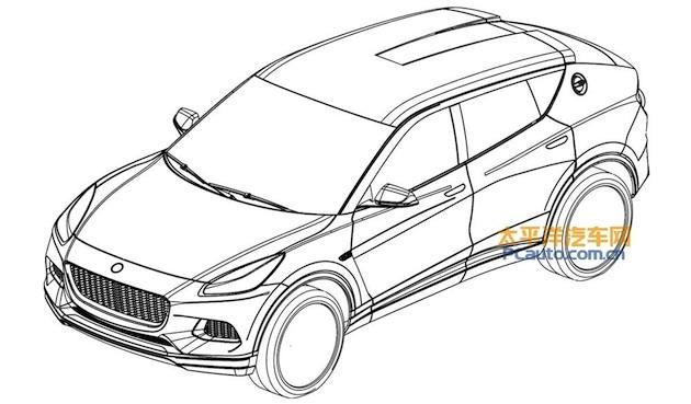 ロータスが開発中の新型SUVと思われる特許画像が流出!