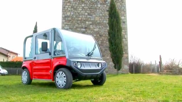 フランス・クラフト社の電気自動車なら、どんなスタイルもお好み通り!
