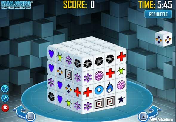 Image Gallery Mahjongg Dimensions Funny Games Mahjong Dimension 3d