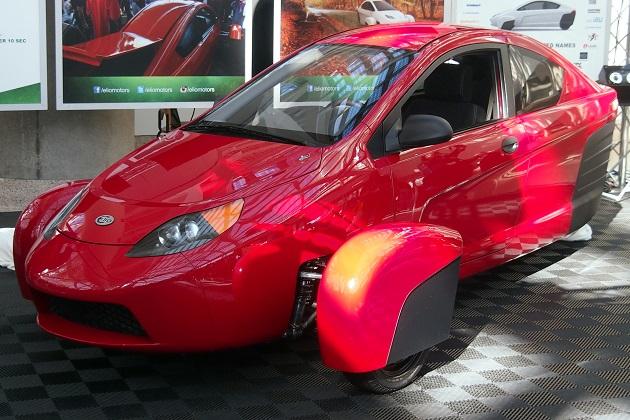 【LAオートショー2015】Elio Motors、3輪コミューターの改良版プロトタイプ「P5」をLAオートショーに出展