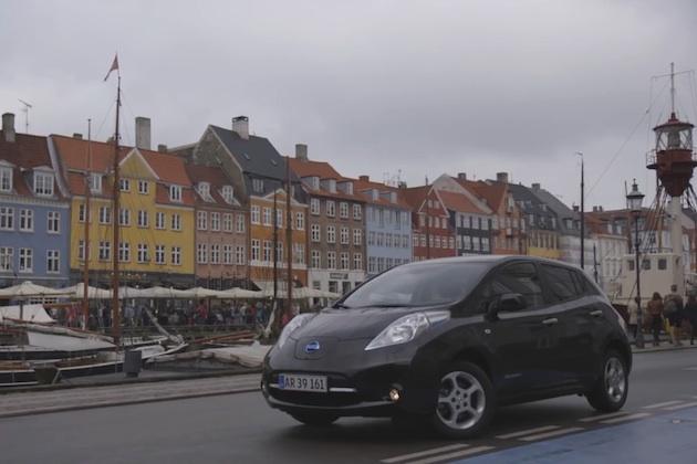 【ビデオ】電気自動車で走る欧州のドライブルート、日産がお薦めするベスト5