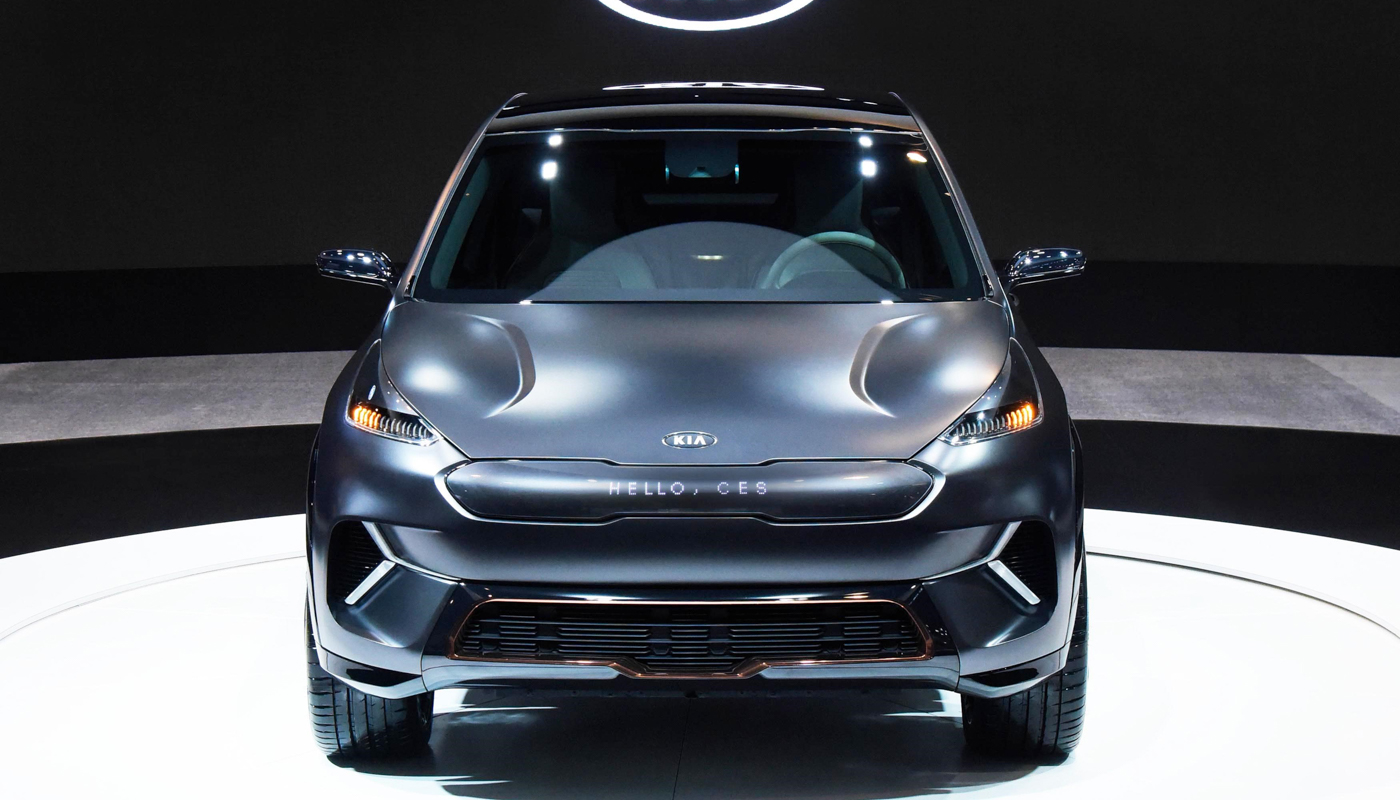 Kia Niro EV Concept Plugs Into CES