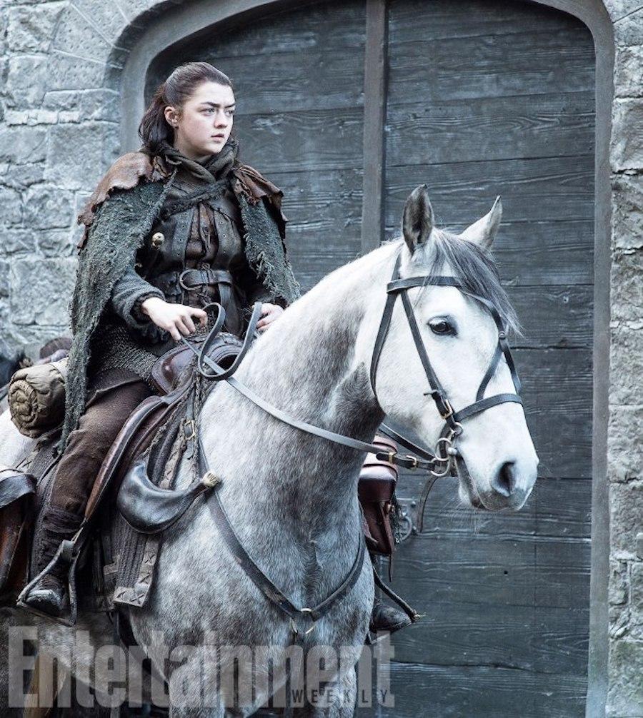 Game of Thrones TK Season 7, Episode TK Air Date: TK Maisie Williams as Arya Stark