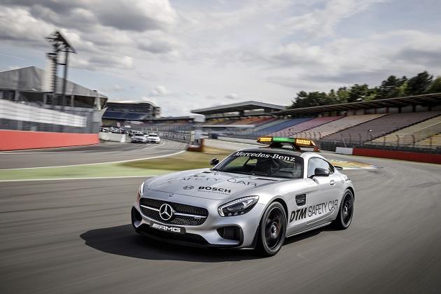 「メルセデスAMG GT S」が、ドイツ・ツーリングカー選手権の新セーフティーカーに