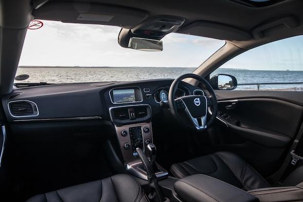 Volvo V40 XC interior